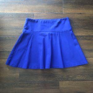 Royal Blue Flippy Skirt